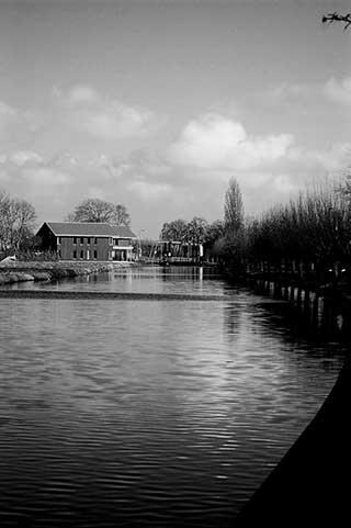 Harmelen de Molenbrug over de Oude Rijn