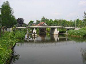 Nieuwe Kleinjansbrug in Harmelen
